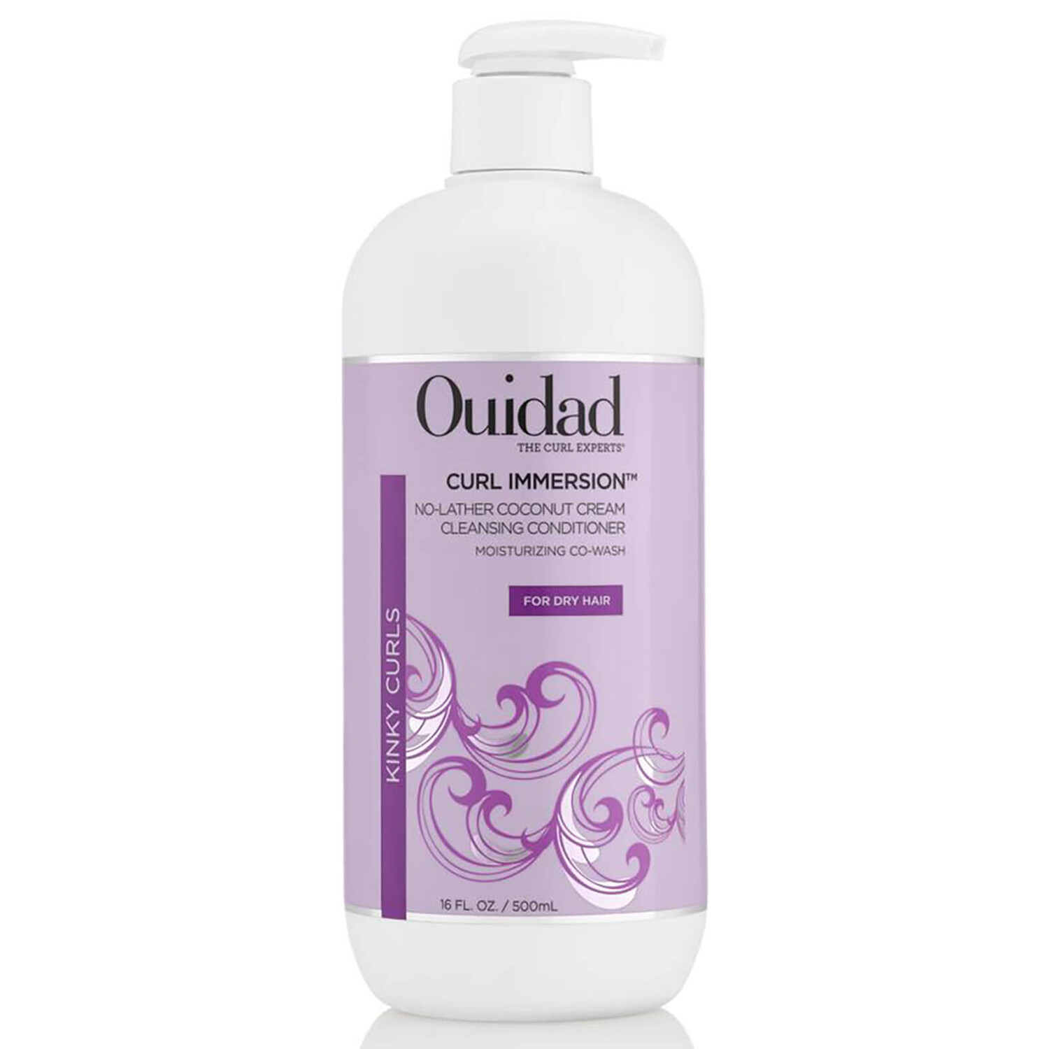 Ouidad Curl Immersion No Lather Coconut Cream Cleansing Conditioner