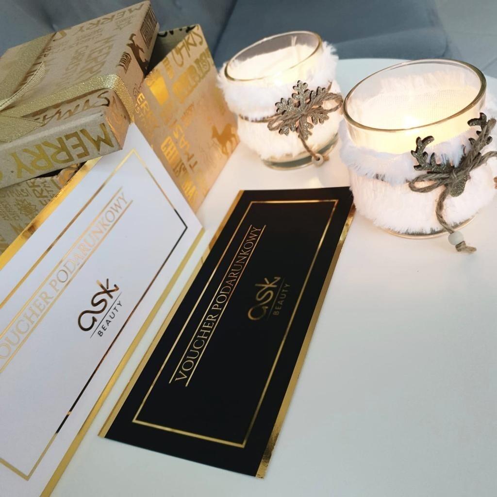 Voucher ASK Beauty o wartości 500 PLN | Ekspresowa Wysyłka Gratis