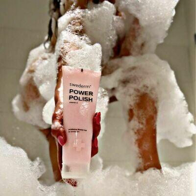 SWEDERM POWER POLISH Złuszczający żel pod prysznic 250 ml