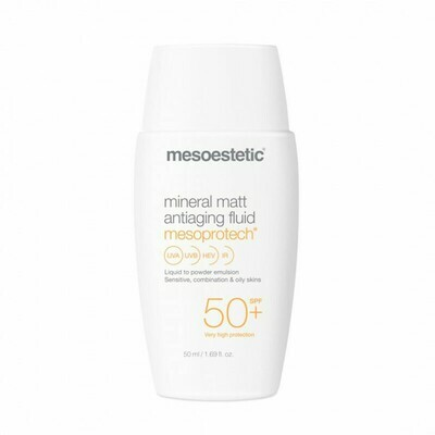 MESOESTETIC Mesoprotech Mineral Matt Antiaging Fluid SPF 50+ 50 ml