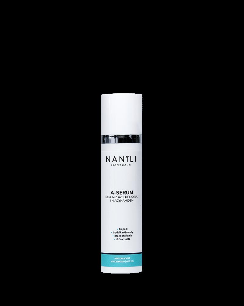 NANILI Professional A-SERUM Serum z azeloglicyną i niacynamidem 75 ml