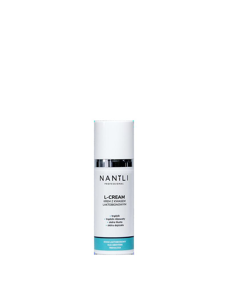NANILI Professional L-CREAM krem z kwasem laktobionowym 50 ml