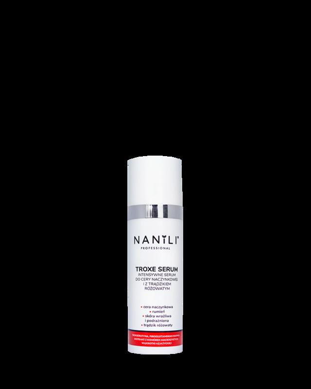 NANILI Professional TROXE-SERUM intensywne serum do cery naczynkowej i z trądzikiem różowatym 30 ml