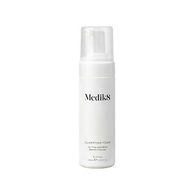 Medik8 CLARIFYING FOAM Oczyszczająca pianka z kwasami AHA/BHA 40 ml