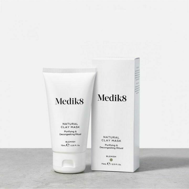 Medik8 NATURAL CLAY MASK Maska oczyszczająca 75 ml