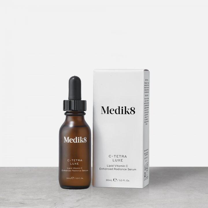 Medik 8 C-TETRA LUXE Intensywne serum z witaminą C i antyoksydantami 30 ml