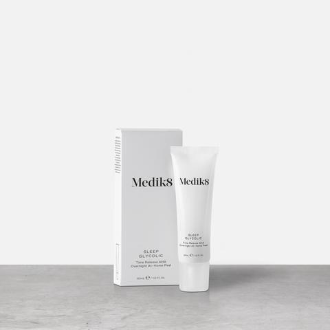 Medik8 Sleep Glycolic - Peeling z opóźnionym uwalnianiem kwasów AHA do stosowania na noc 30 ml