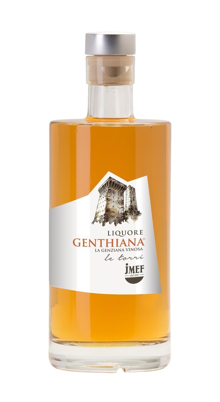 Genthiana | Liquore d'infuso di radice di Genziana e vino Pecorino IGT
