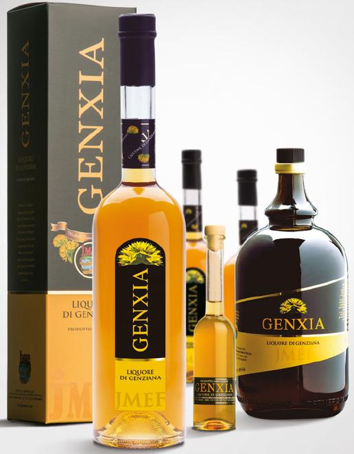 Genxia | Liquore d'infuso di radice di Genziana | JMEF