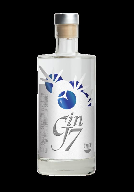 GIN J7 | Botanic Premium Dry Gin | JMEF