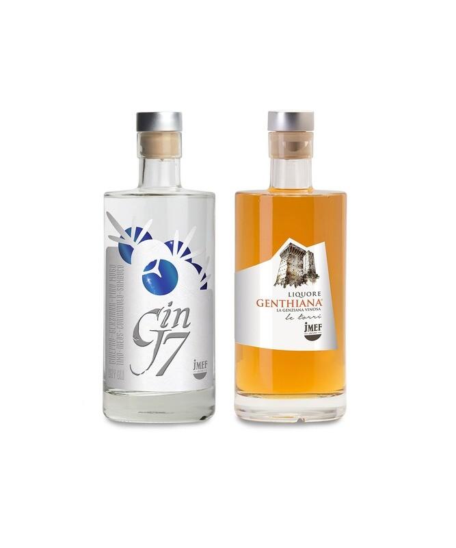 - PACCHETTO - Abruzzo in Bottiglia | Gin J7+ Genthiana | JMEF