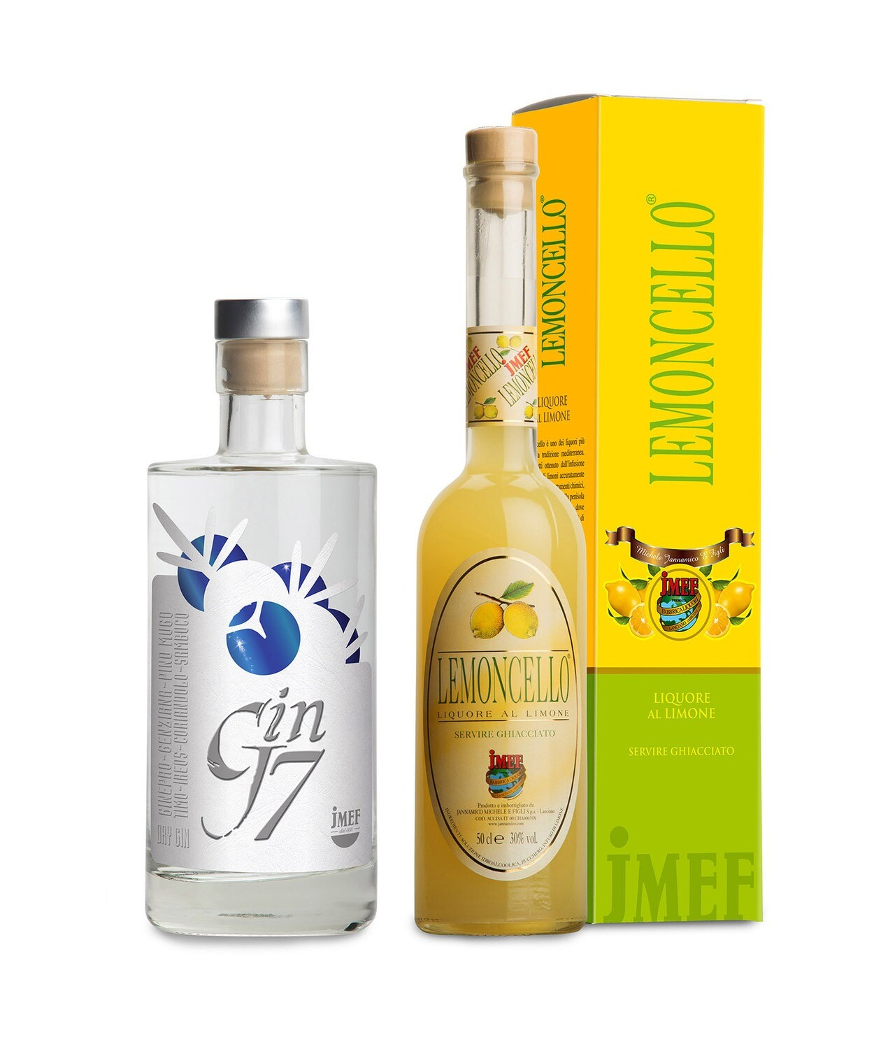 - PACCHETTO - Ready for summer! | Gin J7+ Lemoncello | JMEF