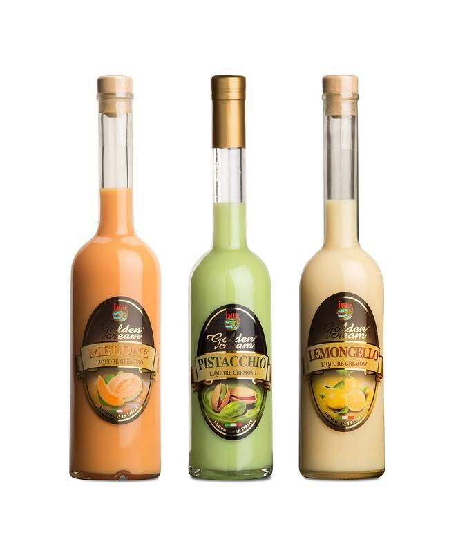 - PACCHETTO - Golden Cream | Melone + Pistacchio + Limone | JMEF