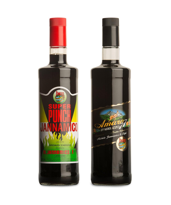 - PACCHETTO - Tradizione di famiglia | Super Punch + Amaro d'Abruzzo 77 | JMEF