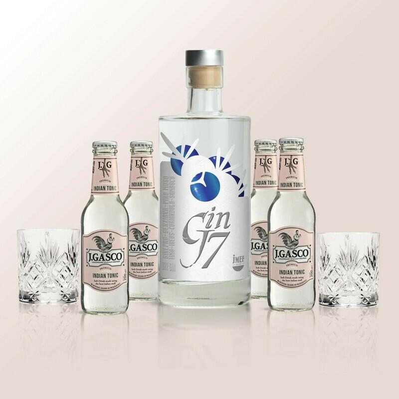 - PACCHETTO - J7 - KIT | Gin J7 + Tumbler + Tonica | JMEF