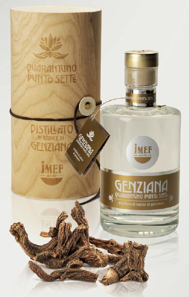 Genziana 41.7   Distillato di radici di Genziana