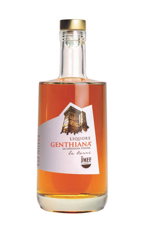 Genthiana   Liquore d'infuso di radice di Genziana e vino Pecorino IGT