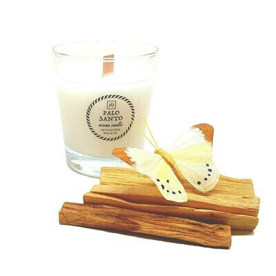 Ароматическая свеча с маслом Пало Санто (200 мл.)