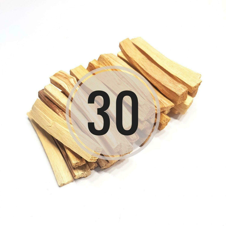 Палочки Пало Санто (СТАНДАРТ), 30 шт
