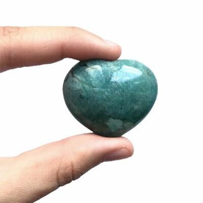 Сердце амазонит, 1 шт (20-30 гр)