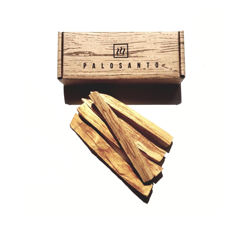 Палочки Пало Санто в подарочной коробке (ЩЕПОЧКИ), 5 шт
