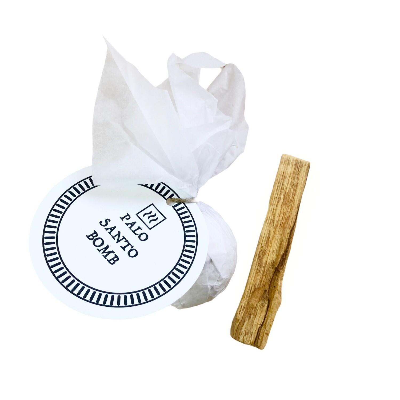Малая бомба для ванны с эфирным маслом Пало Санто, 90 гр
