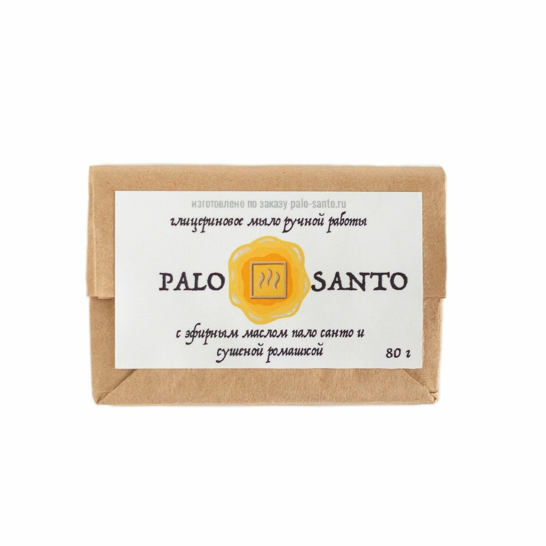 Ароматическое мыло Пало Санто и Ромашка, 80 гр