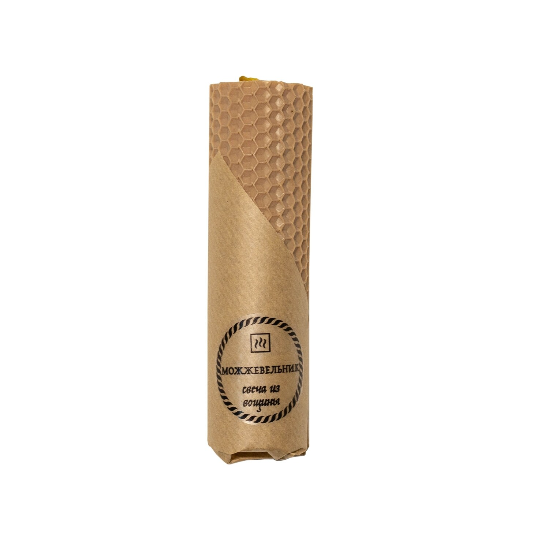 Свеча из вощины с Можжевельником, 45 гр