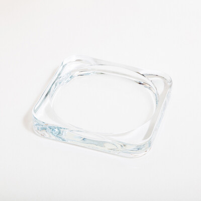 Тарелка-подставка стекло