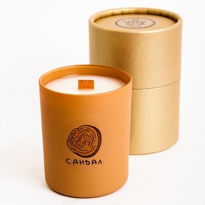 Свеча с ароматом Сандала, 200 мл