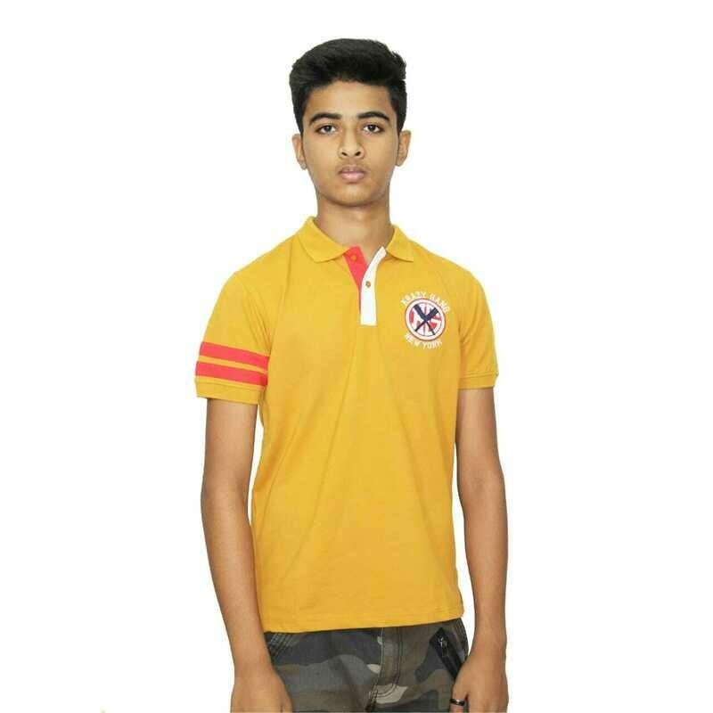 Polo Neck Half Sleeve T-Shirt