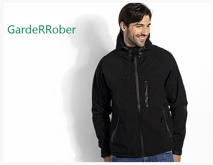 HIGH PEAK softshell muška jakna sa kapuljačom