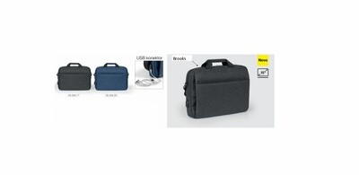 BROOKS pametna poslovna torba sa usb konektorom