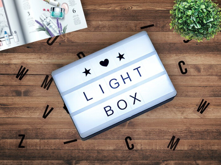 Svetleća kutija, 82 karaktera