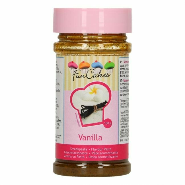 FunCakes Geschmackspaste Vanille 100g