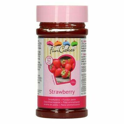 FunCakes Geschmackspaste Erdbeere 120g