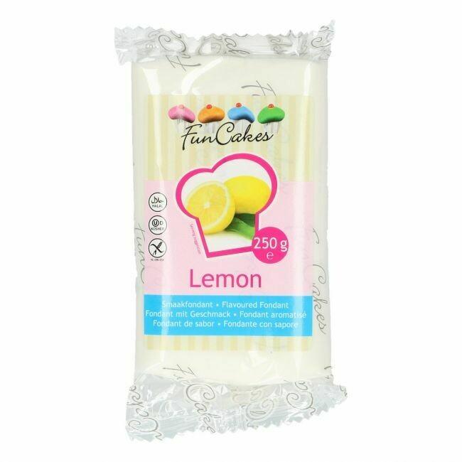 FunCakes Geschmacksfondant Zitronen 250g