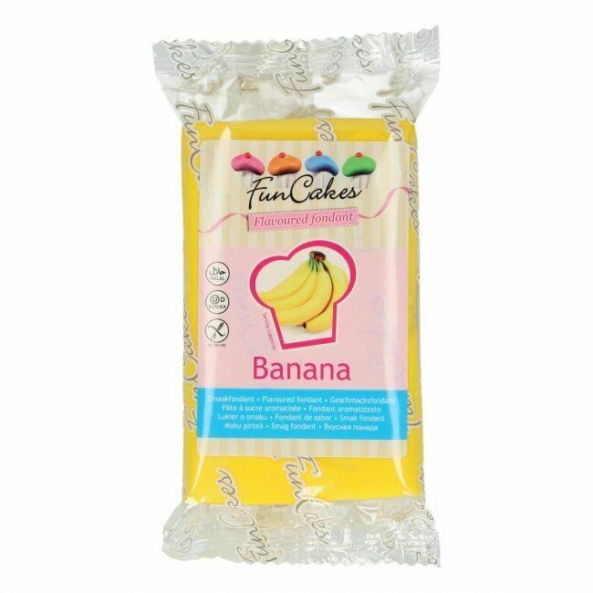 FunCakes Geschmacksfondant Banane 250g