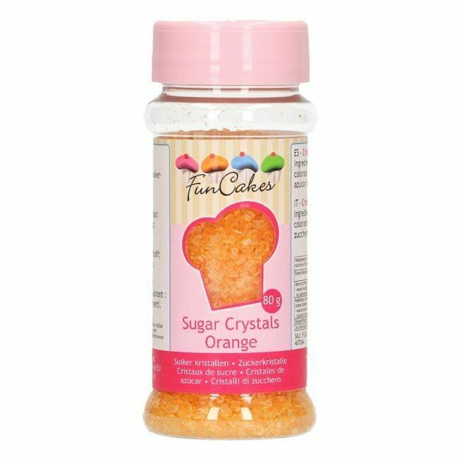 FunCakes Coloured Sugar Orange 80g