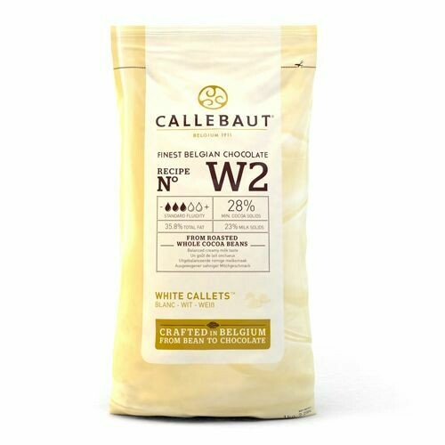 Callebaut Chocolate Callets White 1kg