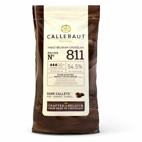 Callebaut Chocolate Callets Dark 1kg