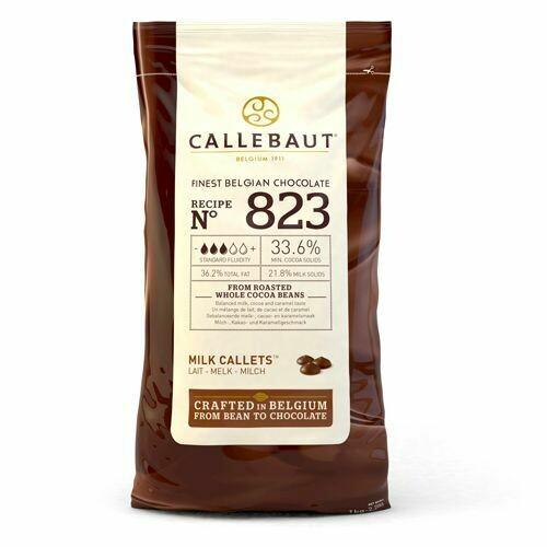 Callebaut Chocolate Callets Milk 1kg