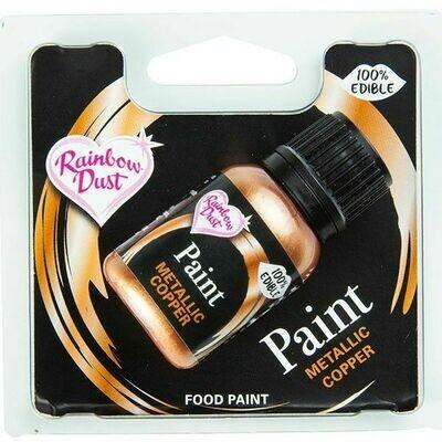 RD Metallic Food Paint Copper 25ml