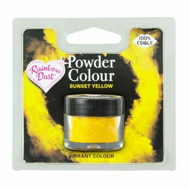 RD Powder Colour -  Yellow - Sunset Yellow