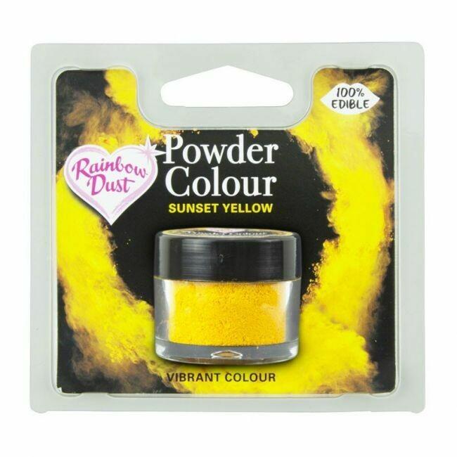 RD Powder Colour -  Yellow - Sunset Yellow