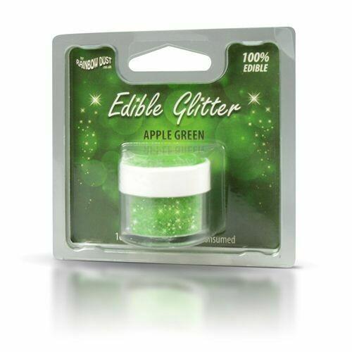 RD Edible Glitter - Apple Green 5g