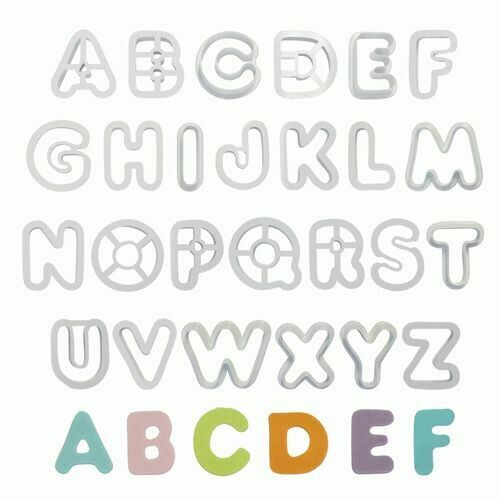 PME Alphabet Cutter Set/26