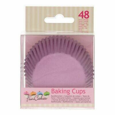 FunCakes Baking Cups -Lila- pk/48