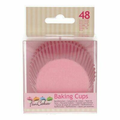 FunCakes Baking Cups -Light Pink- pk/48