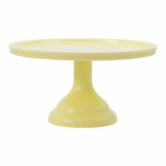 ALLC Kuchenständer klein Gelb